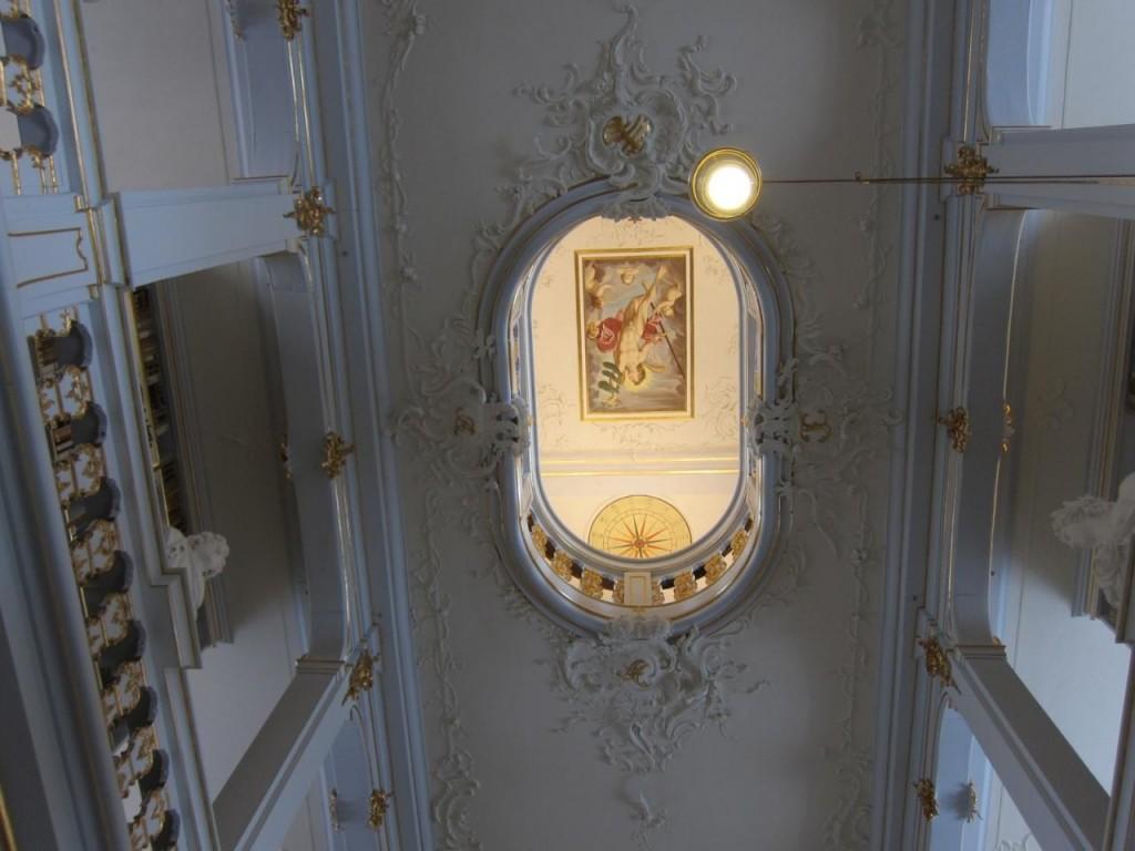 アンナアマリア図書館天井