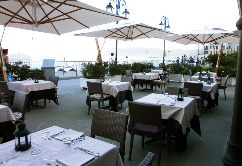 グランド・ホテル・アラッシオ Grand Hotel Alassioのレストラン