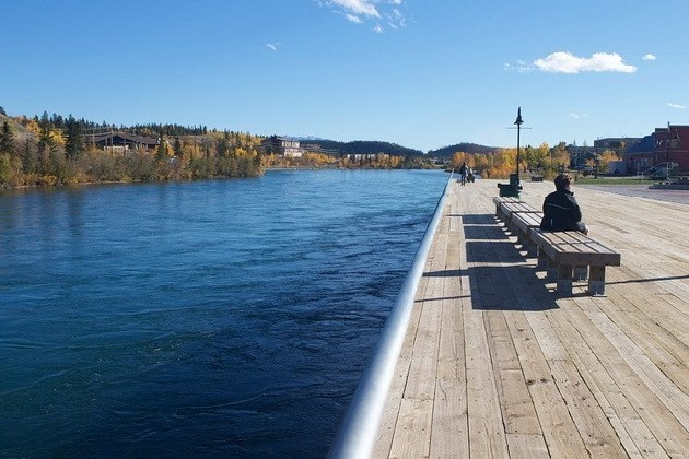 カナダホワイトホースユーコン川