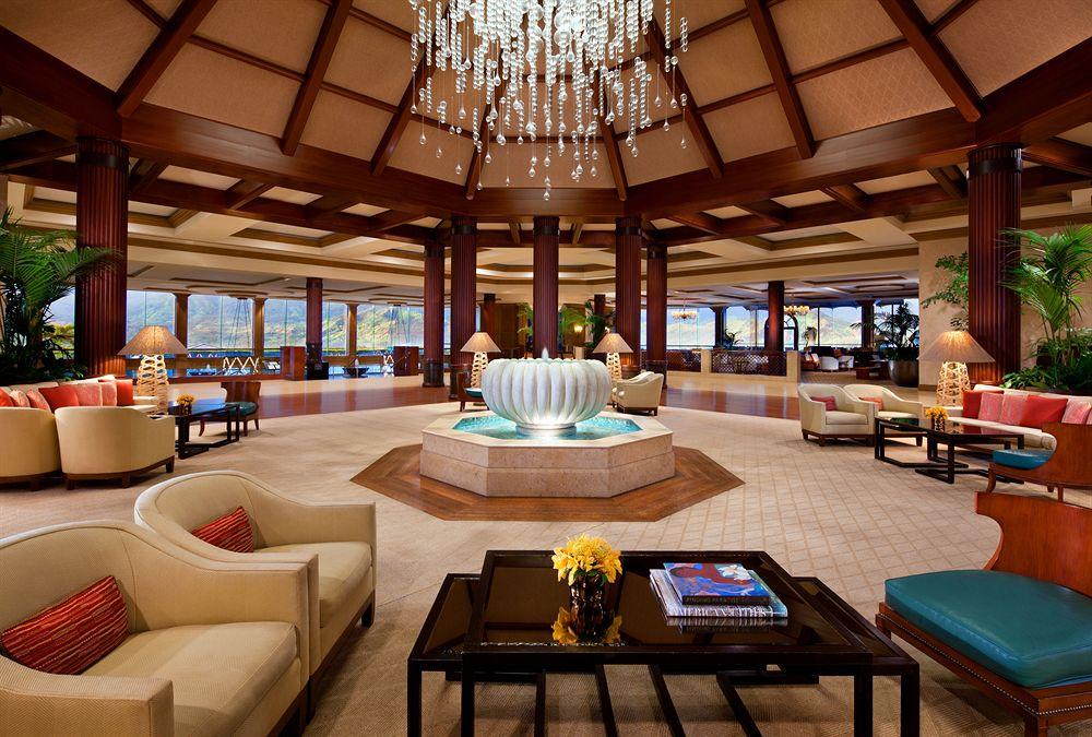 セント・レジス・プリンスヴィル・リゾート The St. Regis Princeville Resortのロビー