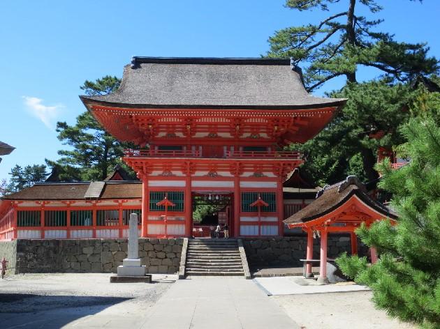 日御碕神社山門
