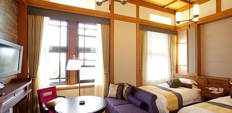 奈良ホテルデラックスルームの一例