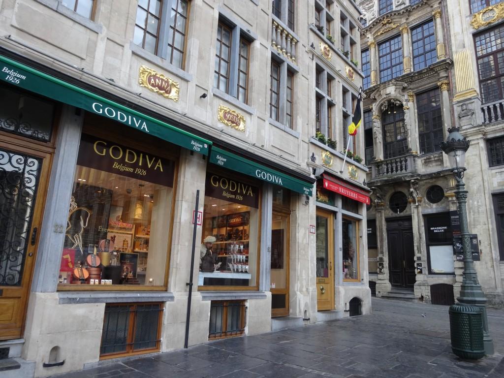 ゴディバ ブリュッセル 本店