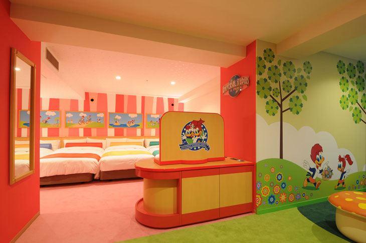リーガロイヤルホテル大阪のUSJコラボルーム