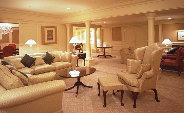 リーガロイヤルホテル大阪で最も広い「モナークスイート」