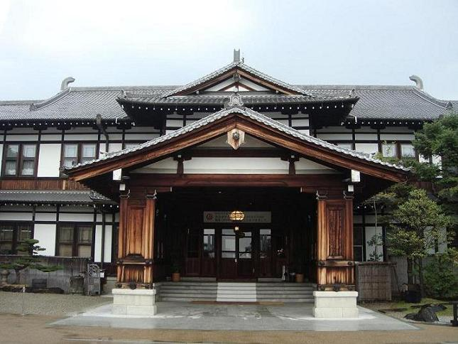 奈良ホテルの外観