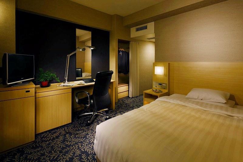 リーガロイヤルホテル大阪のリーズナブルなシングルルーム