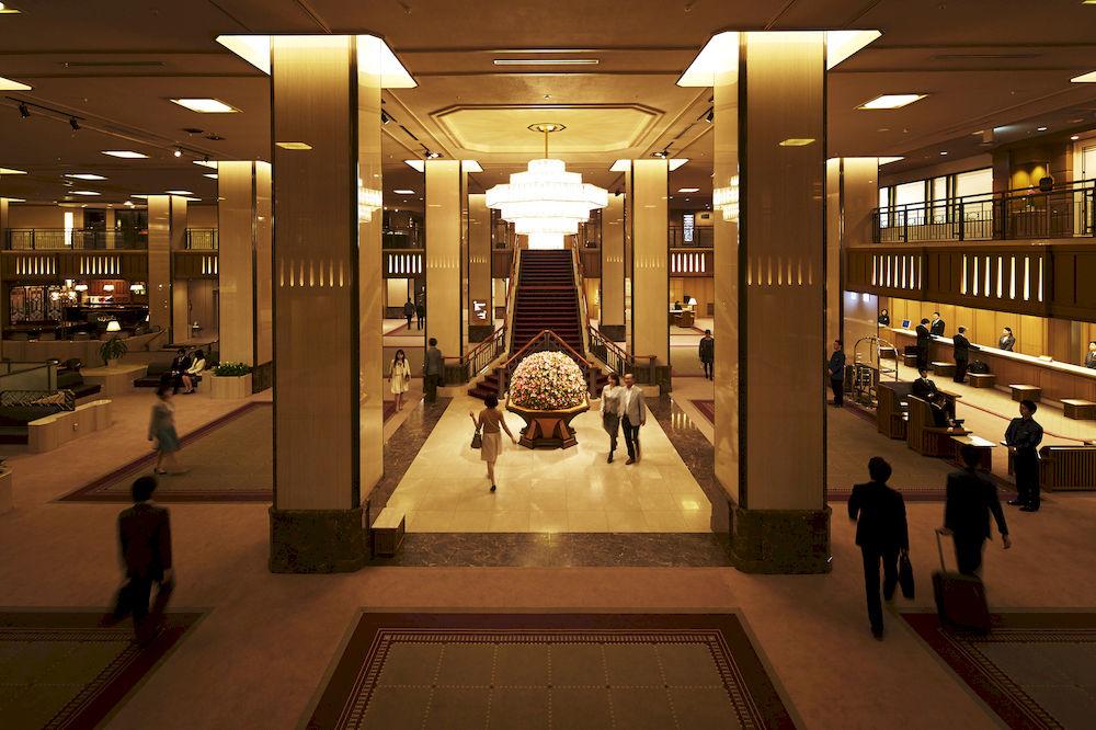 帝国ホテル東京ロビー