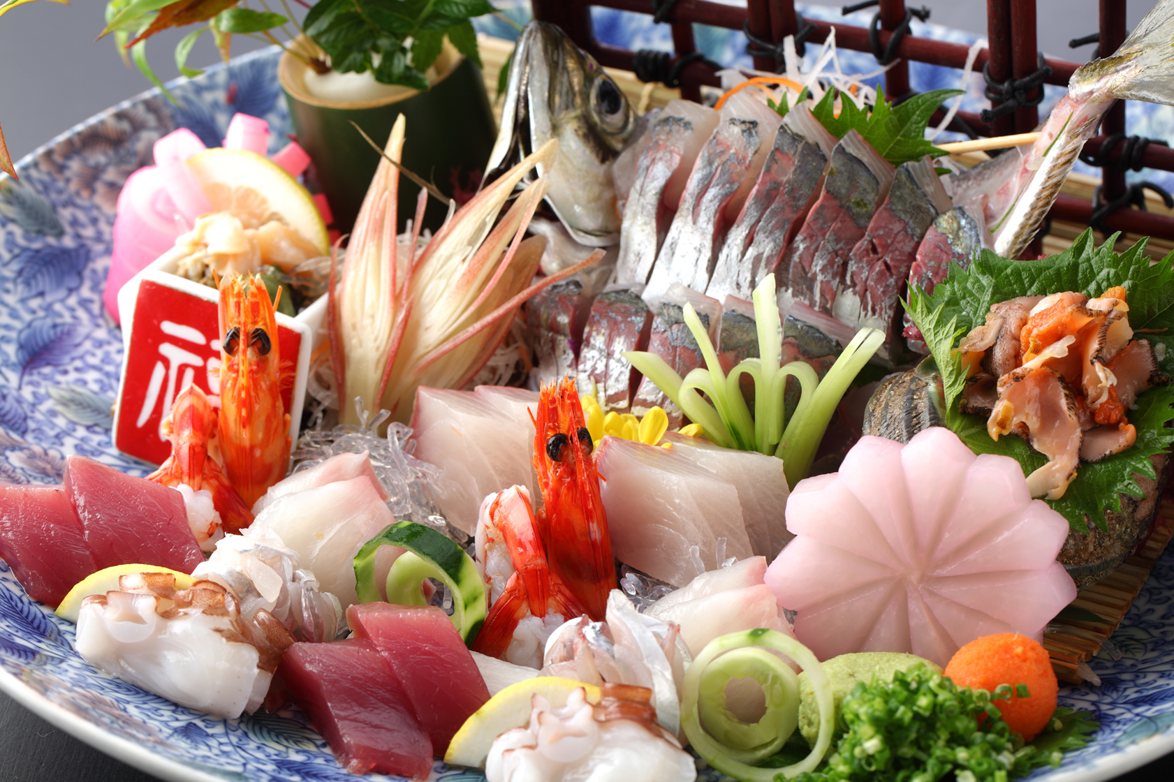 潮騒の宿晴海、海鮮料理「えいたろう」