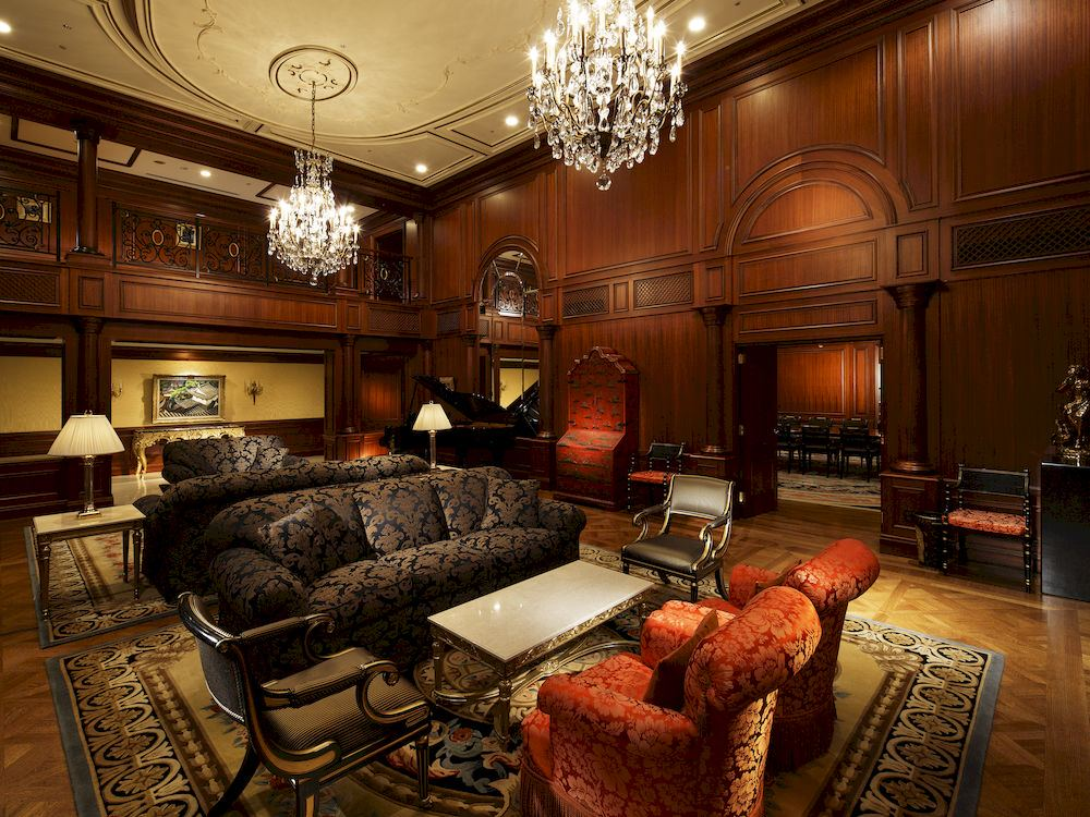 リーガロイヤルホテル大阪のロビー応接スペース