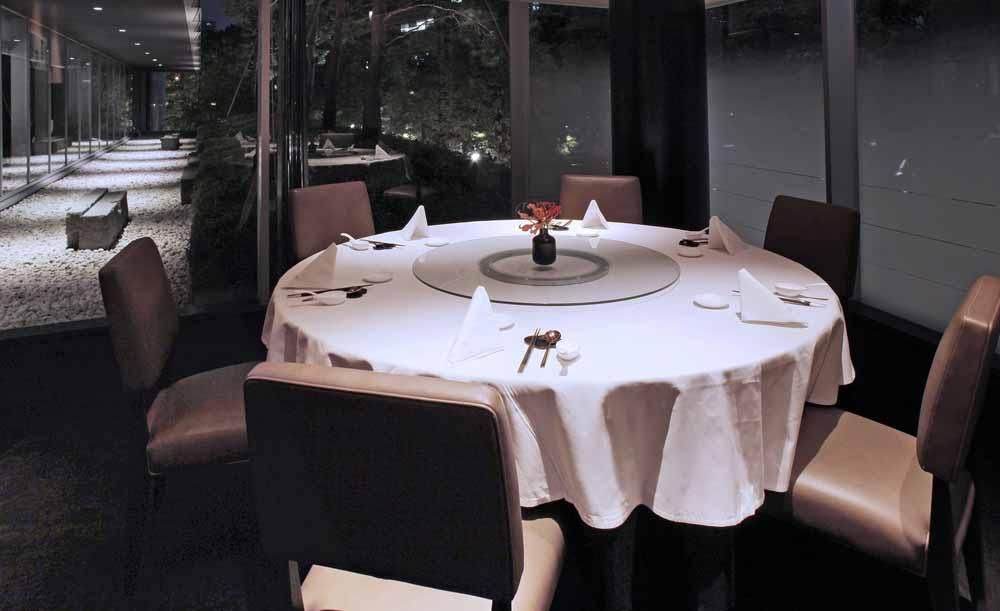 ザ・キャピトルホテル東急内の中国料理店「星ヶ岡」