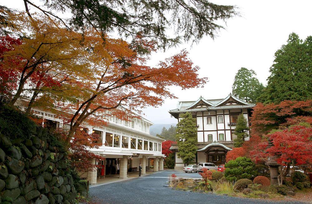 紅葉の日光金谷ホテル