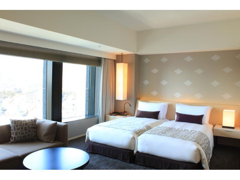 ザ・キャピトルホテル東急の客室「デラックスハリウッドツイン」