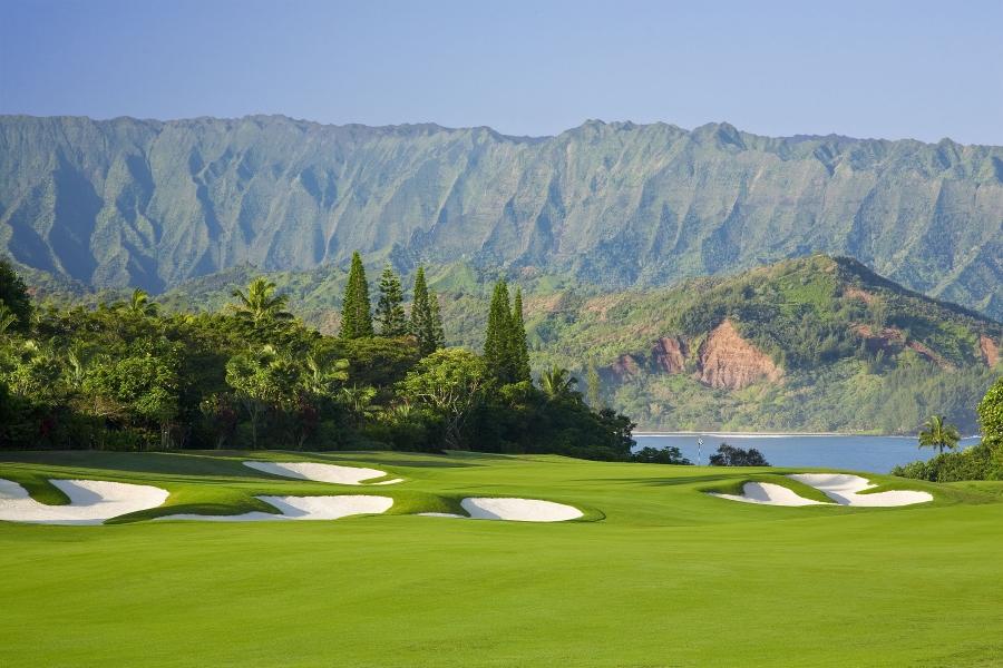 セント・レジス・プリンスヴィル・リゾート The St. Regis Princeville Resortのゴルフコース