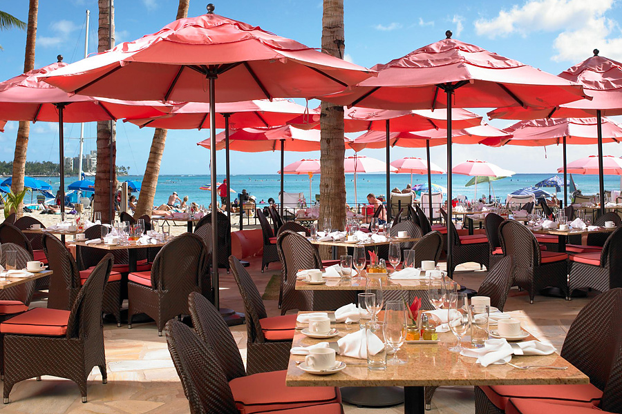 ザ・ロイヤル・ハワイアンのレストラン
