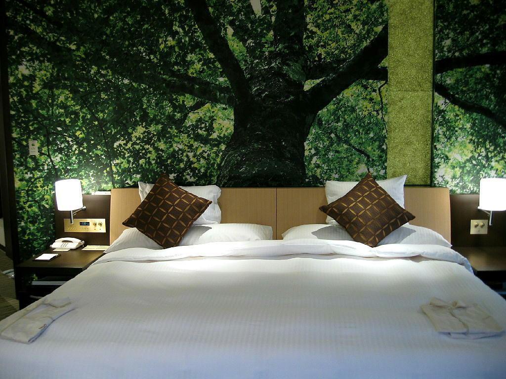 リーガロイヤルホテル大阪の「森」をテーマにしたスイートルーム