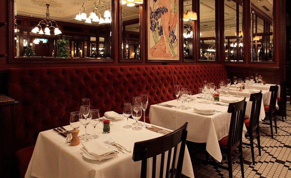 帝国ホテル東京のフランス料理店「ラ・ブラスリー」