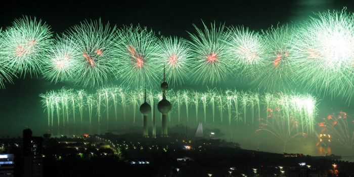 クウェートアラビア湾