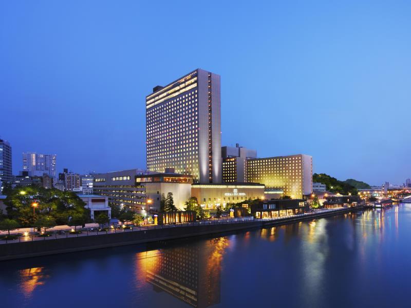 リーガロイヤルホテル大阪の外観