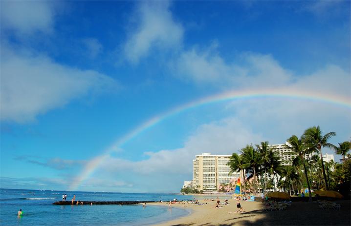 ダイヤモンドヘッドとパラセイリング♪山と海から「ハワイ」の早朝を満喫しよう☆