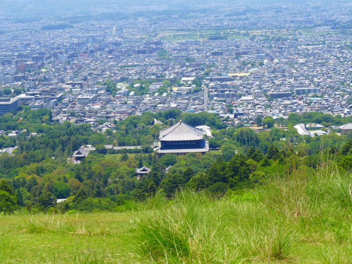 若草山山頂からの景色