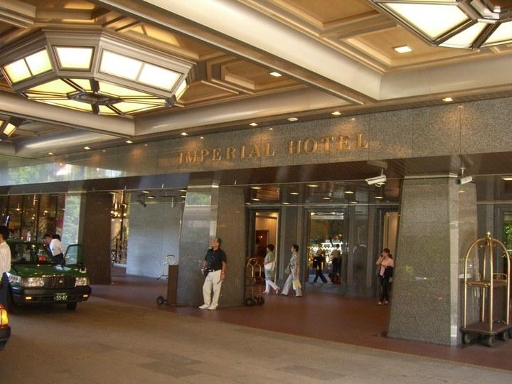 帝国ホテル東京入口