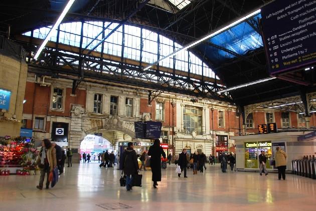 ロンドンビクトリア駅