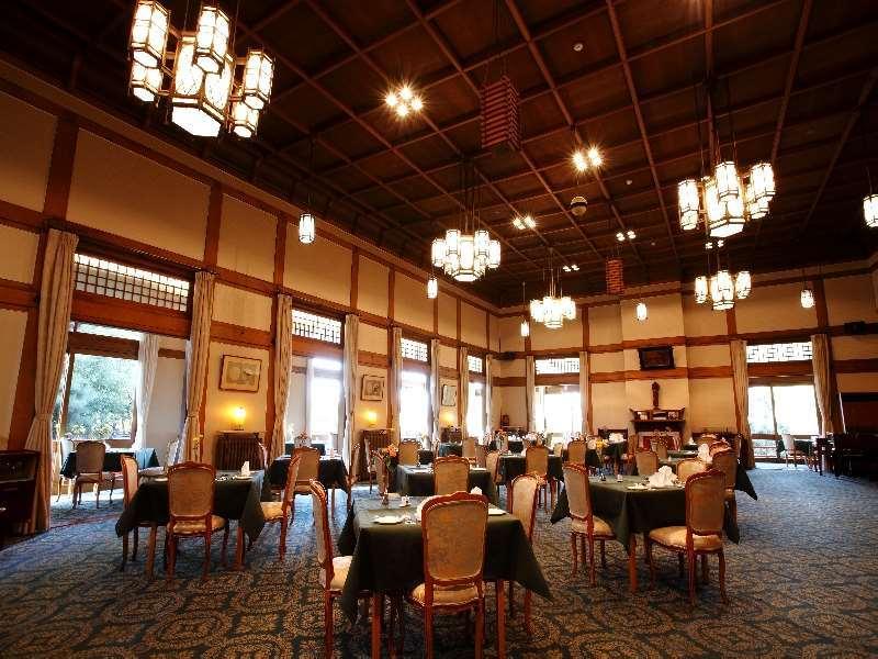 奈良ホテルのフランス料理の「三笠」