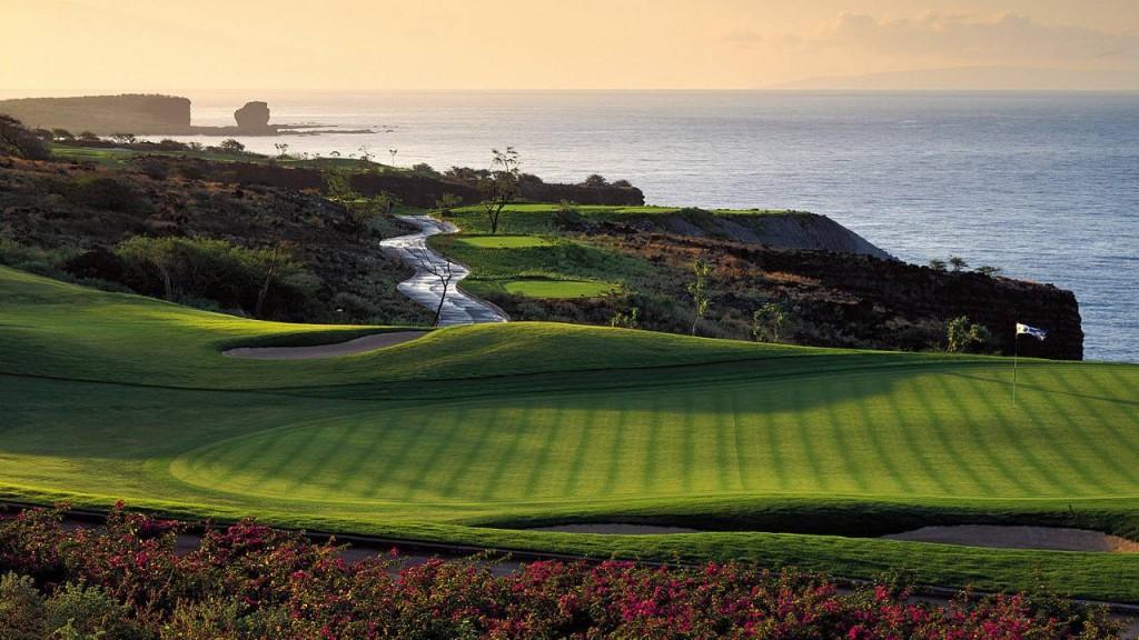 フォーシーズンズ・リゾート・ラナイ・アット・マネレ・ベイ Four Seasons Resort Hawaii, Lanai at Manele Bayのゴルフコース