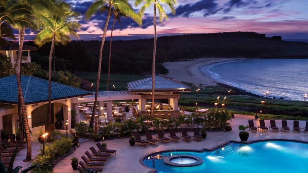 フォーシーズンズ・リゾート・ラナイ・アット・マネレ・ベイ Four Seasons Resort Hawaii, Lanai at Manele Bayの風景
