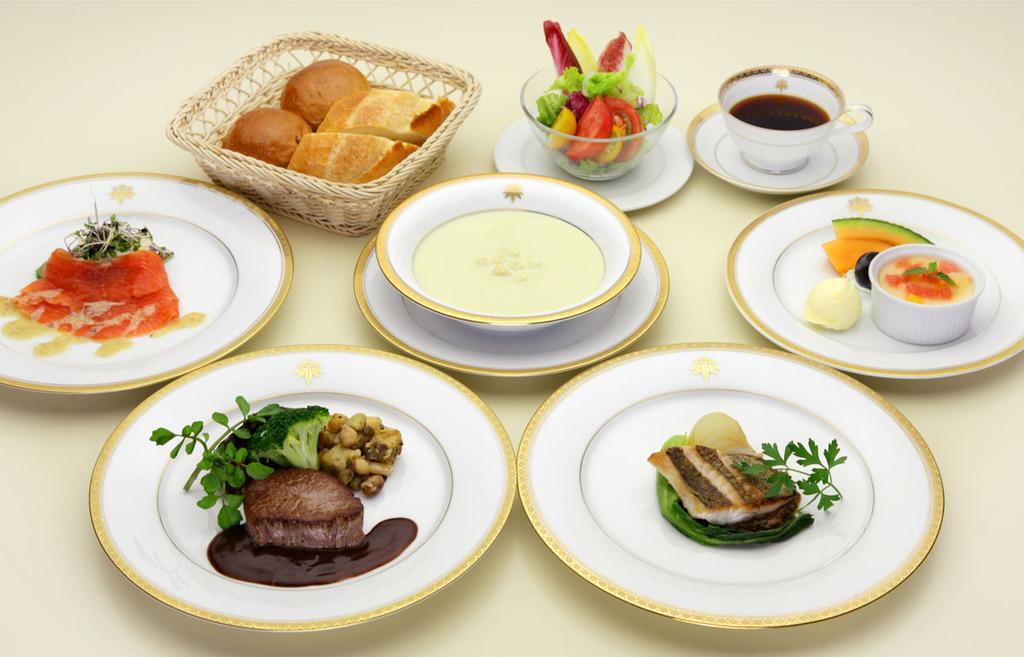本格的なフランス料理