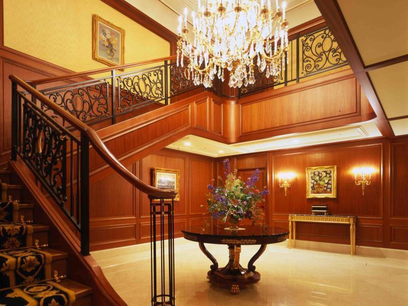 リーガロイヤルホテル大阪の階段