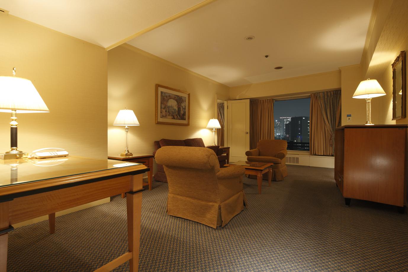 リーガロイヤルホテル大阪のデラックススイート
