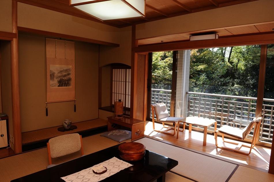 奈良ホテル和室の一例