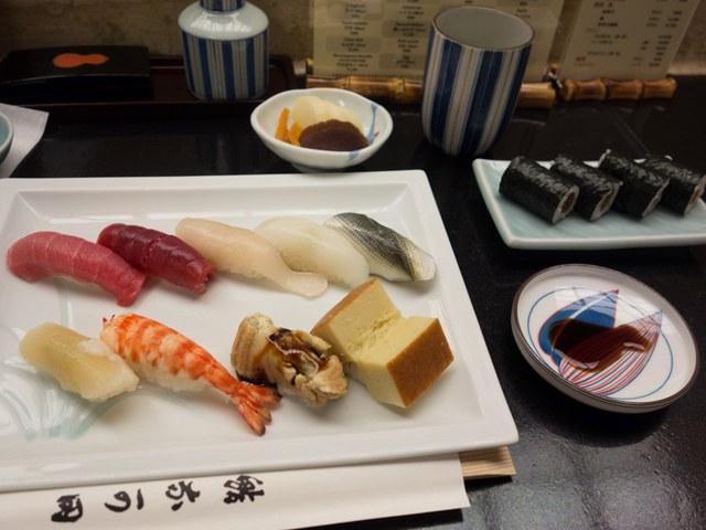 帝国ホテル東京のお寿司屋さん「なか田」