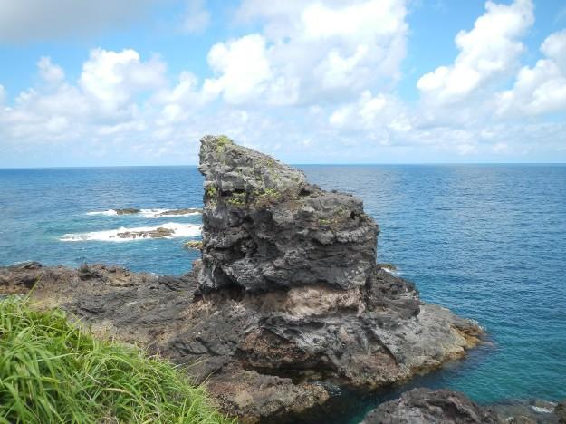 壱岐島にあるゴリラ岩