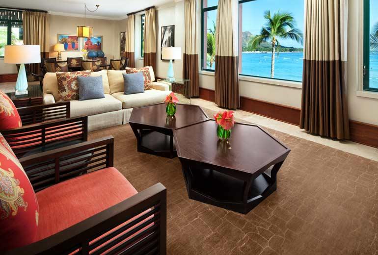 ザ・ロイヤル・ハワイアンの客室
