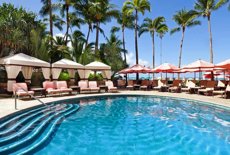 ザ・ロイヤル・ハワイアンのプール