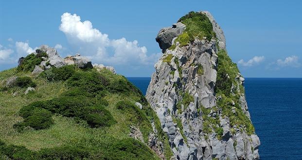 壱岐島にある猿岩