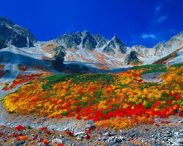 涸沢カール紅葉