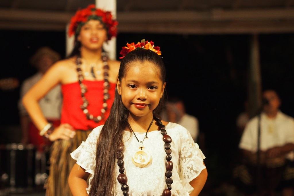 シェラトン・ラグーナ・グアム・リゾート Sheraton Laguna Guam Resortのバーベキュー・ディナー・ショーのチャモロダンス