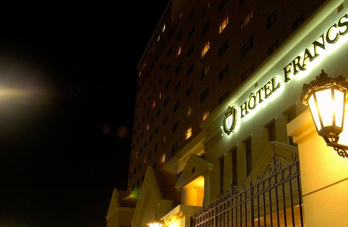 ホテルフランクスの風景