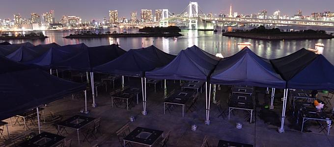 デジキューBBQ CAFE デックス東京ビーチ店