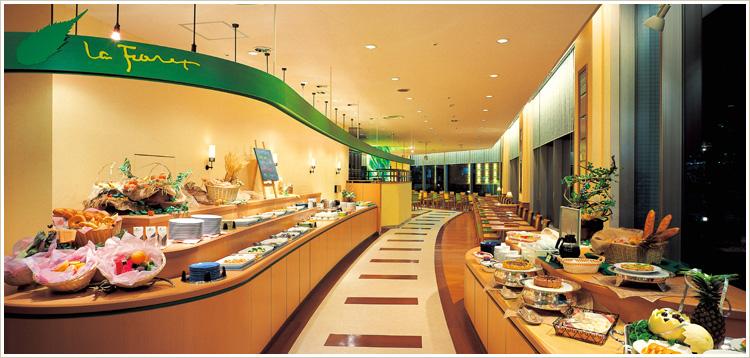 ホテル グリーンタワー幕張のビュッフェレストラン ラフォーレ
