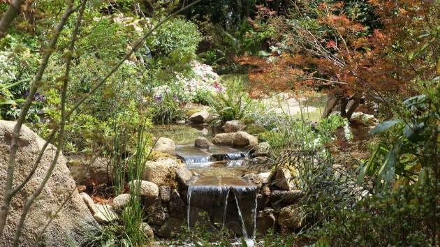 ウェスティンホテル東京の庭園