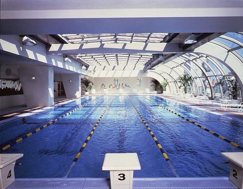 浅草ビューホテルのプール