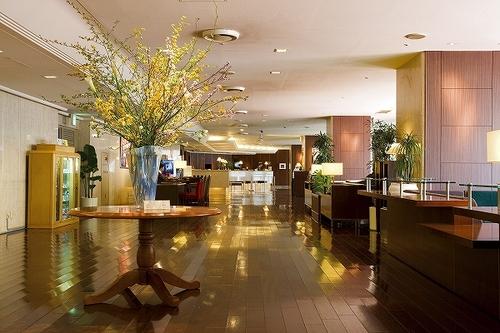 赤坂エクセルホテル東急のロビー