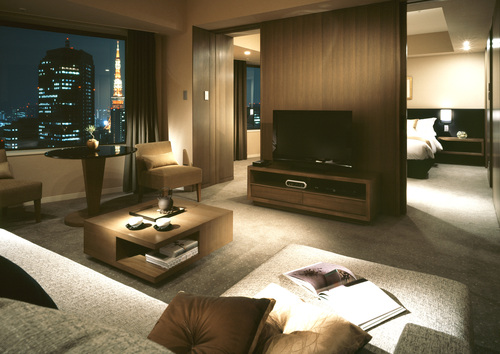 ANAインターコンチネンタルホテル東京のスイート