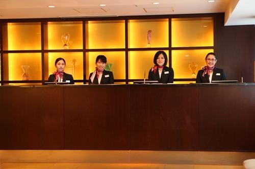メルキュールホテル銀座東京のロビー