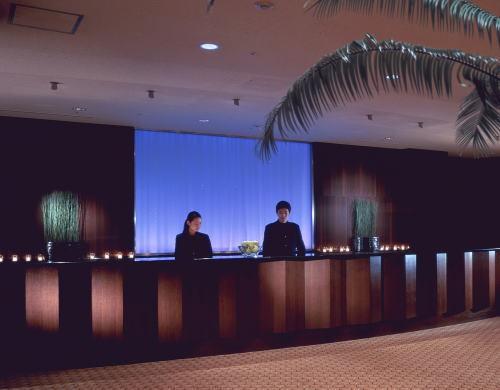 シェラトン都ホテル東京のフロント